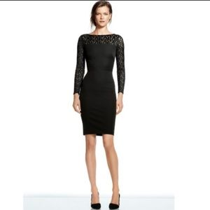 Roland Mouret Banana Republic Black Lace Dress 6